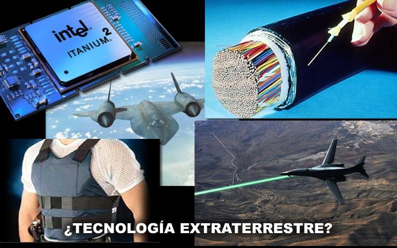 Algunos artefactos y dispositivos supuestamente obtenidos de inteligencias extraterrestres.