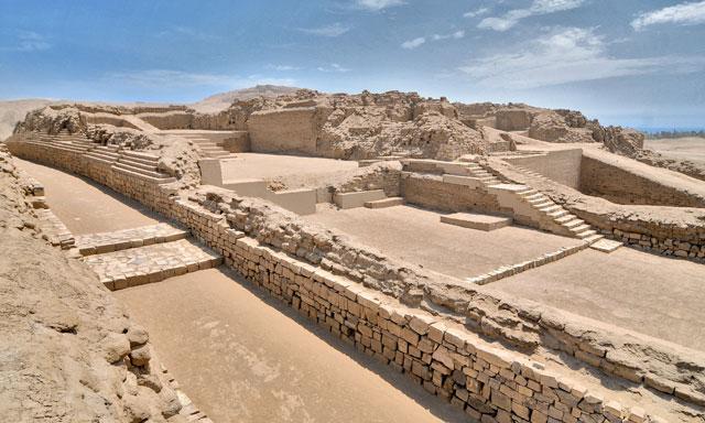 Templo de Pachacamac. Perú.
