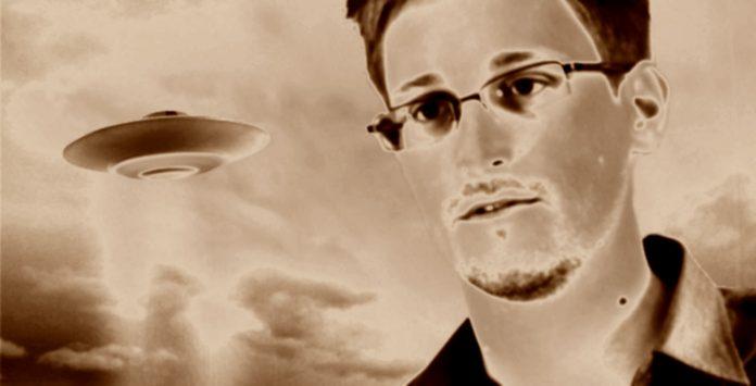 Edward Snowden revela secretos OVNI.