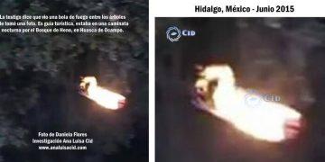 """Las tradiciones locales llaman a este tipo de fenómeno como """"Brujas"""". México - 2015."""