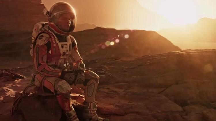 NASA ayudó a hacer más realista la película 'The Martian'