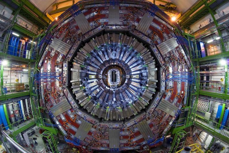 El gran colisionador de hacrones del CERN.