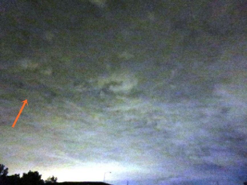 OVNI con forma de delta sobre Morrisville, Pennsylvania