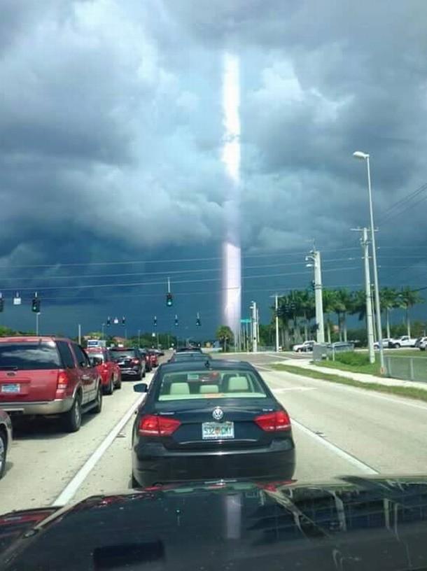 Supuesto rayo de luz en Florida