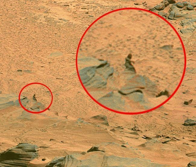 Otra mujer en Marte
