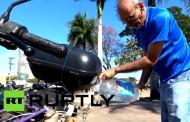 En Brasil: La moto que usa agua en vez de gasolina