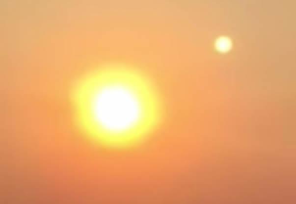 ¿Dos soles en el cielo? ¿Nibiru? Familia graba extraño vídeo en EE.UU