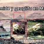 ¿Pirámide y geoglifo en Marte?