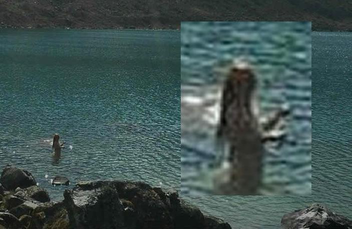 Hombre asegura haber fotografiado una sirena en Perú