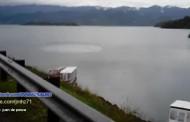Afirman que un OVNI causa extraño fenómeno en Lago de Costa Rica