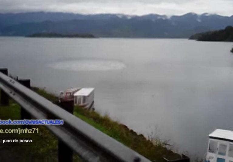 ¿Un OVNI causó esto en un lago de Costa Rica?
