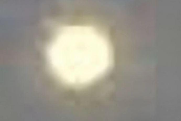 Impresionante OVNI con forma de octágono visto en México. Agosto 2015.