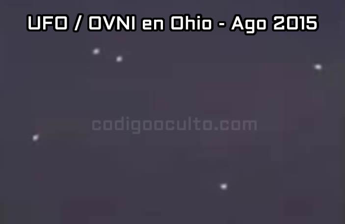 Interesante vídeo OVNI grabado sobre Ohio, EE.UU