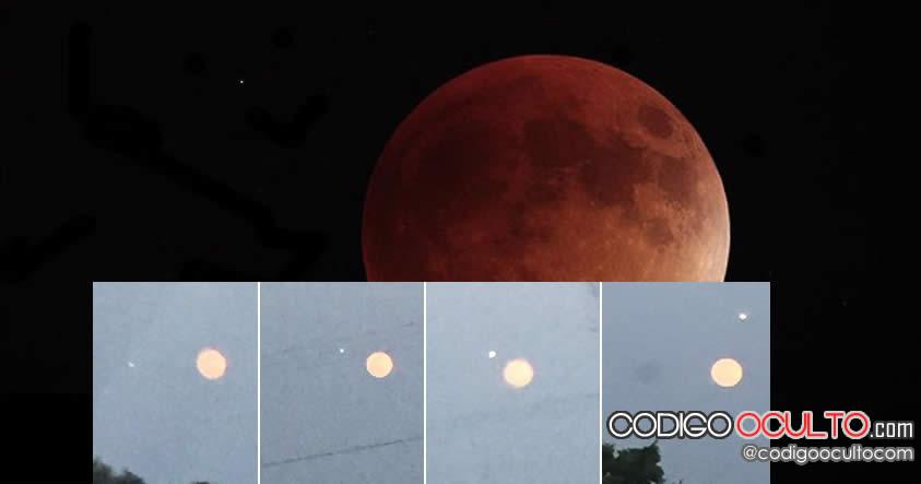 Se registraron avistamientos de ovnis en la noche de la superluna.