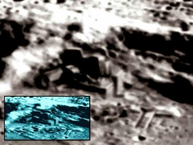 Base extraterrestre en la Luna