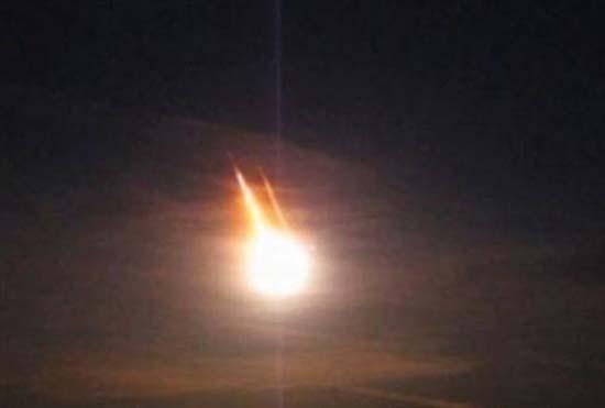 ¿Meteorito u OVNI?