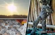 Posible robot extraterrestre encontrado después de explosión de meteorito en México