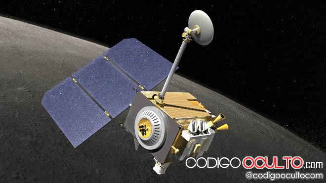 El Lunar Reconnaissance Orbiter fue lanzado al espacio en 2009. Crédito: NASA