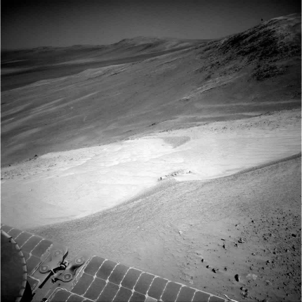 OVNI sobrevuela Marte.