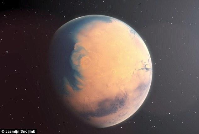 Marte, un planeta con un océano de agua en el pasado.