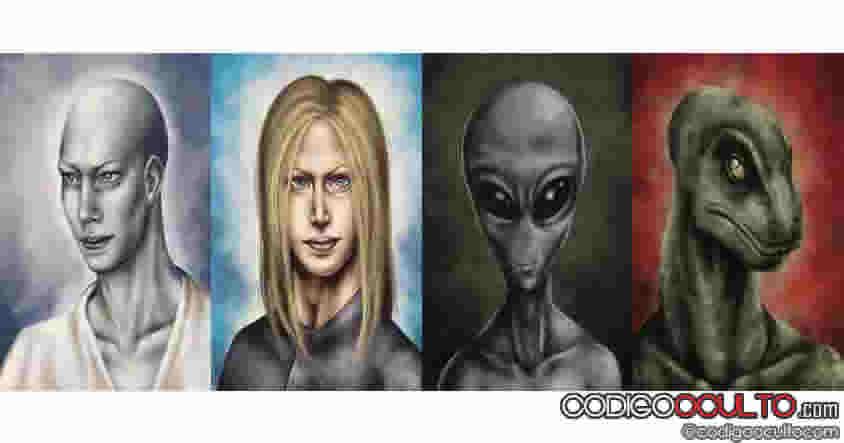 Lista de razas extraterrestres que cooperan con el complejo militar e industrial