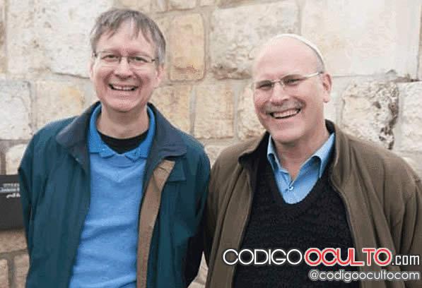 Bob O'Dell, (izquierda) un cristiano devoto y Gidon Ariel, un Judio ortodoxo.