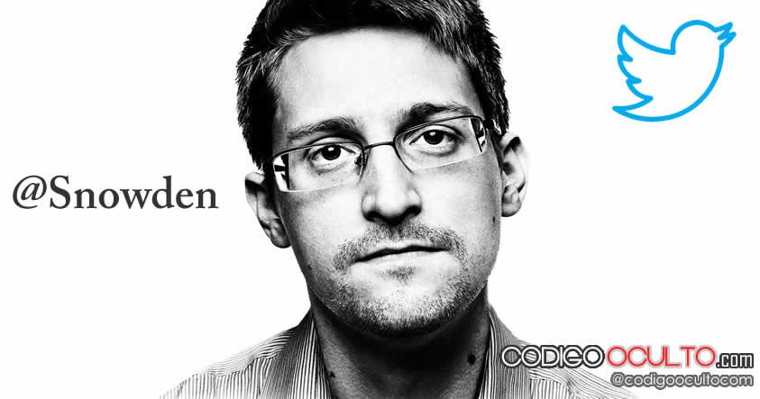 Edward Snowden estrenó cuenta de Twitter ¿Empezó la divulgación?