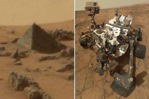 Pirámide en Marte