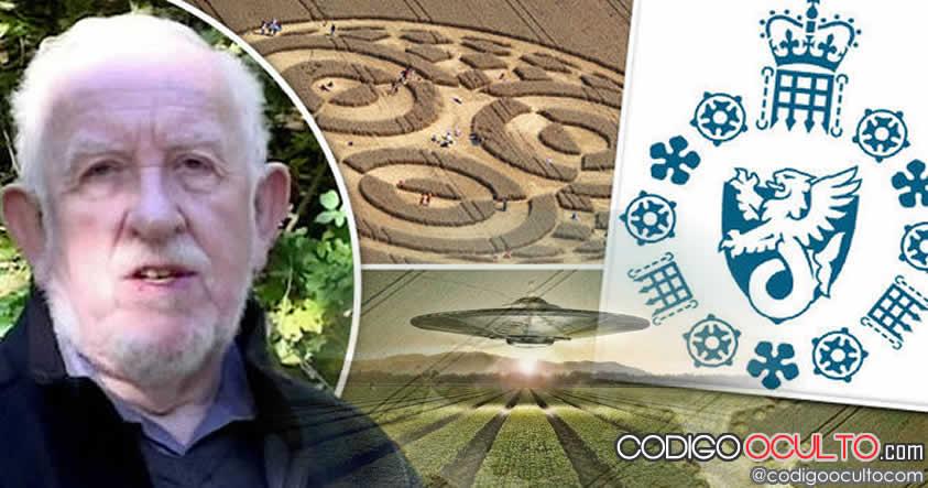 Ex ingeniero de la RAF: MI5 pagó a personas para realizar crop circles