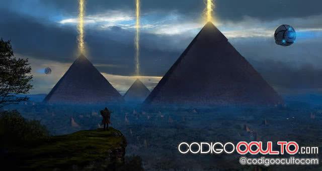 Pirámides del antiguo Egipto - Extraterrestres y OVNIs