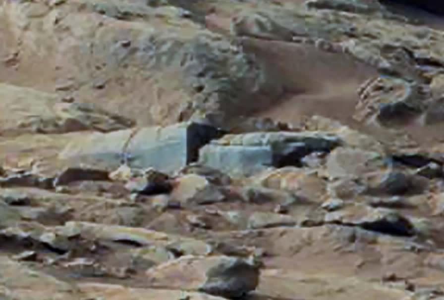 ¿Estructuras artificiales en Marte?