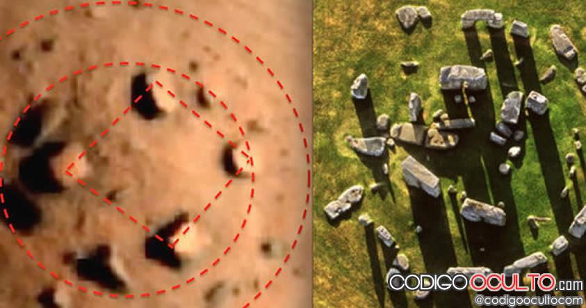 Marshenge: El Stonehenge encontrado en Marte