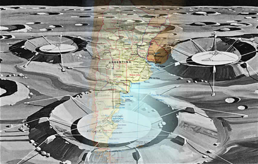 Bases extraterrestres en Argentina.