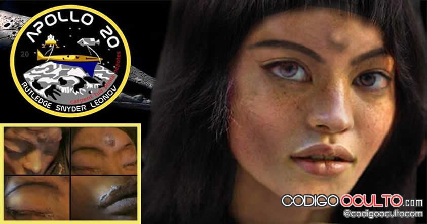 Mona Lisa: La humanoide extraterrestre encontrada por Apolo 20