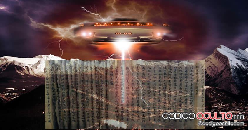 Abducción extraterrestre descrita hace 500 años en un manuscrito chino
