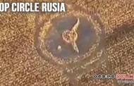 Un colosal y misterioso Crop Circle aparece en Rostov, Rusia