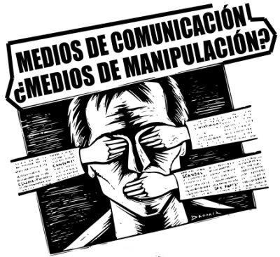 Manipulación de los medios de comunicación.