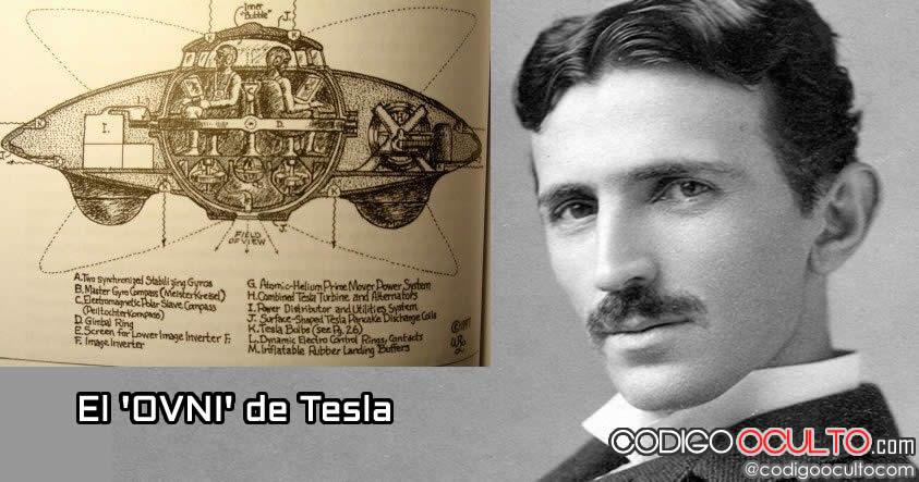 """Nikola Tesla y su invención llamada: """"El primer platillo volador del mundo"""""""