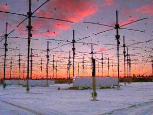 Complejo de antenas pertenecientes al programa HAARP. Fotografía: www.haarp.alaska.edu