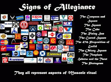 Los logotipos corporativos están llenos de simbología oculta.