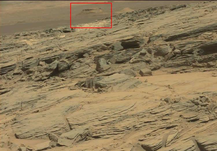 Fotografía de la NASA: OVNI en Marte