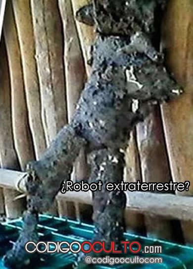 ¿Robot extraterrestre?