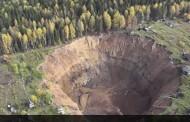 El monstruoso cráter de los Urales (Rusia) no deja de crecer