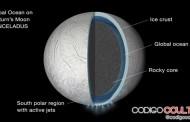 Vida en Encélado: Descubren un gran océano bajo su superficie