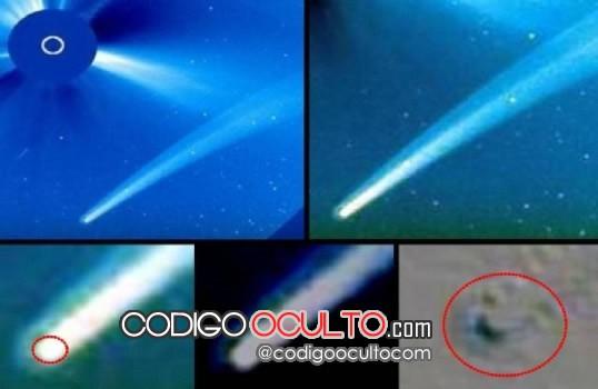 ¿Cometa, OVNI? 18 de septiembre - SOHO