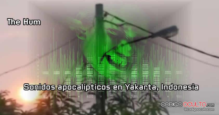 "Se vuelve a escuchar las ""trompetas del apocalipsis"". Fecha: 11 de sept. 2015, Yakarta, Indonesia."