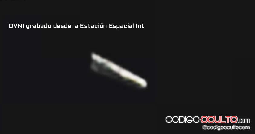 Otro OVNI fue registrado por las cámaras de la Estación Espacial Internacional.
