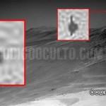 Un OVNI oscuro en Marte hallado en fotografía