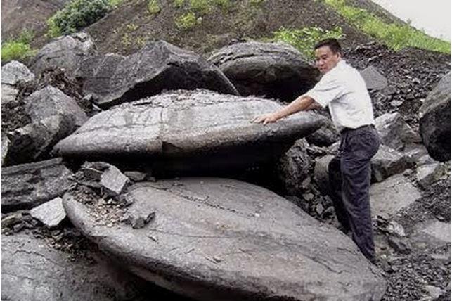 Roca OVNI en Jiangxi, China