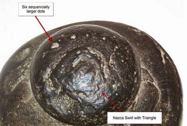 Roca OVNI de Nazca, Perú
